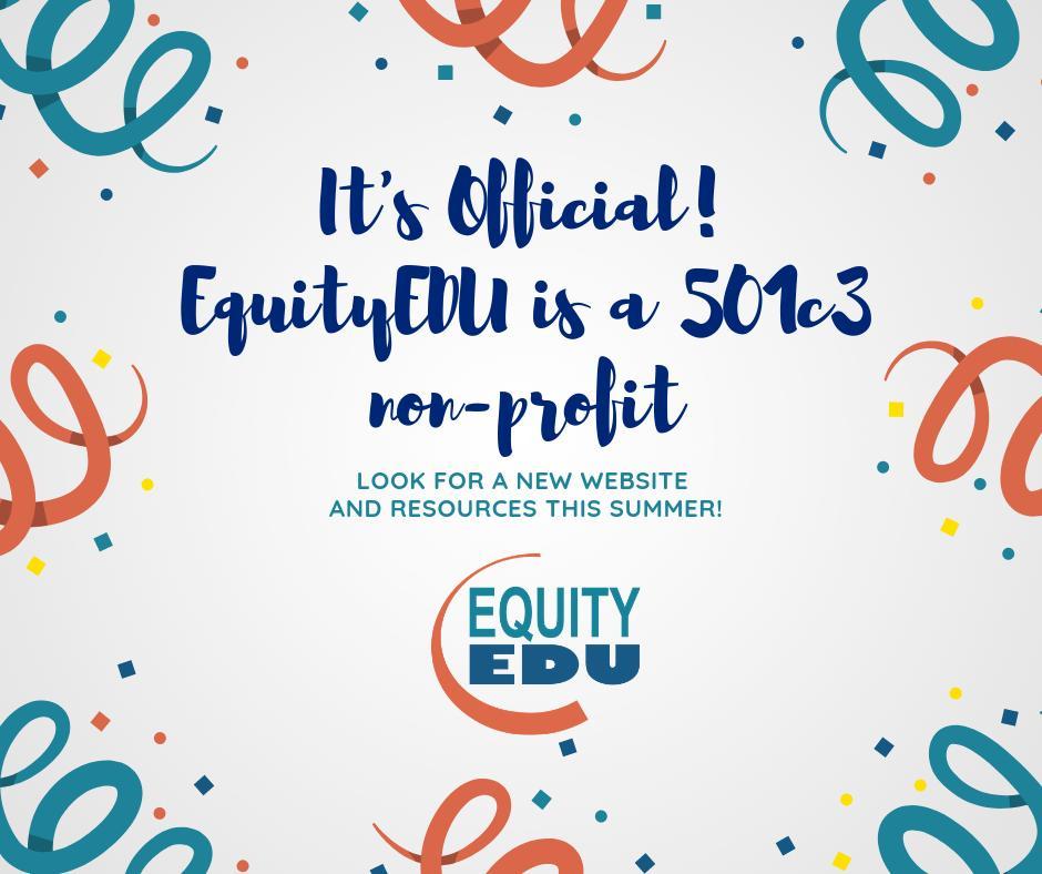 Woot! #EquityEDU