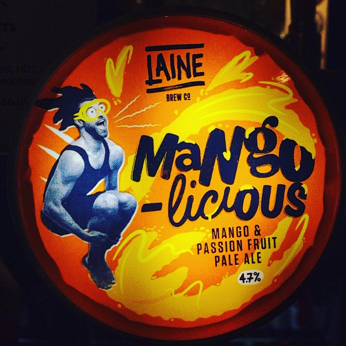 I want something delicious, maybe something mangolicious! #headofsteamhuddersfield #craftbeer #tasty #lainebrewery #cameronsbrewery #mango #mangomadness #beerme