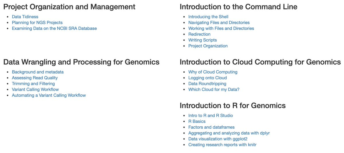 We're hosting a totally free @datacarpentry for #genomics workshop at @UofA May 30-31st! Schedule and registration: https://jasonjwilliamsny.github.io/2019-05-30-uofarizona/… Volunteers/TAs also wanted! Data proficiency not required. DM or email to help out. @UA_CB2 @TucsonWids @CyVerseOrg @UAresearch @UAhealthnet
