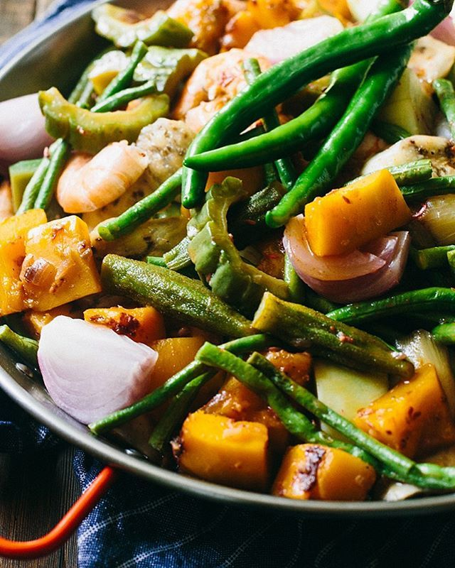 Russ Crandall On Twitter Another Recipe From The Heritage Cookbook Pinakbet This Filipino Dish Is A Hearty Combination Of Vegetables And Shrimp Seasoned With Flavorful Shrimp Sauce Find More Info On The