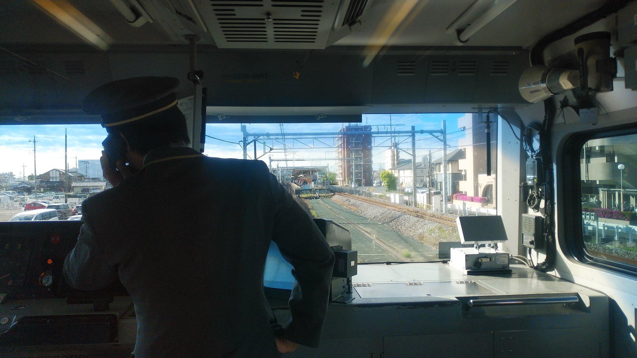 高崎線の行田駅~熊谷駅間で人身事故の現場画像