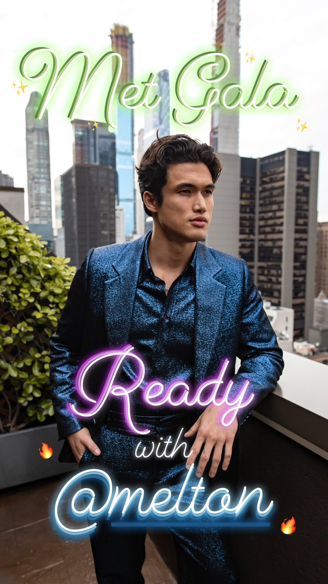 Tonight, we're at the #MetGala with @CW_Riverdale star @charlesmmelton. Check out our story now to see how he prepped for the big night. https://www.instagram.com/p/BxJZ55ZAs_d/
