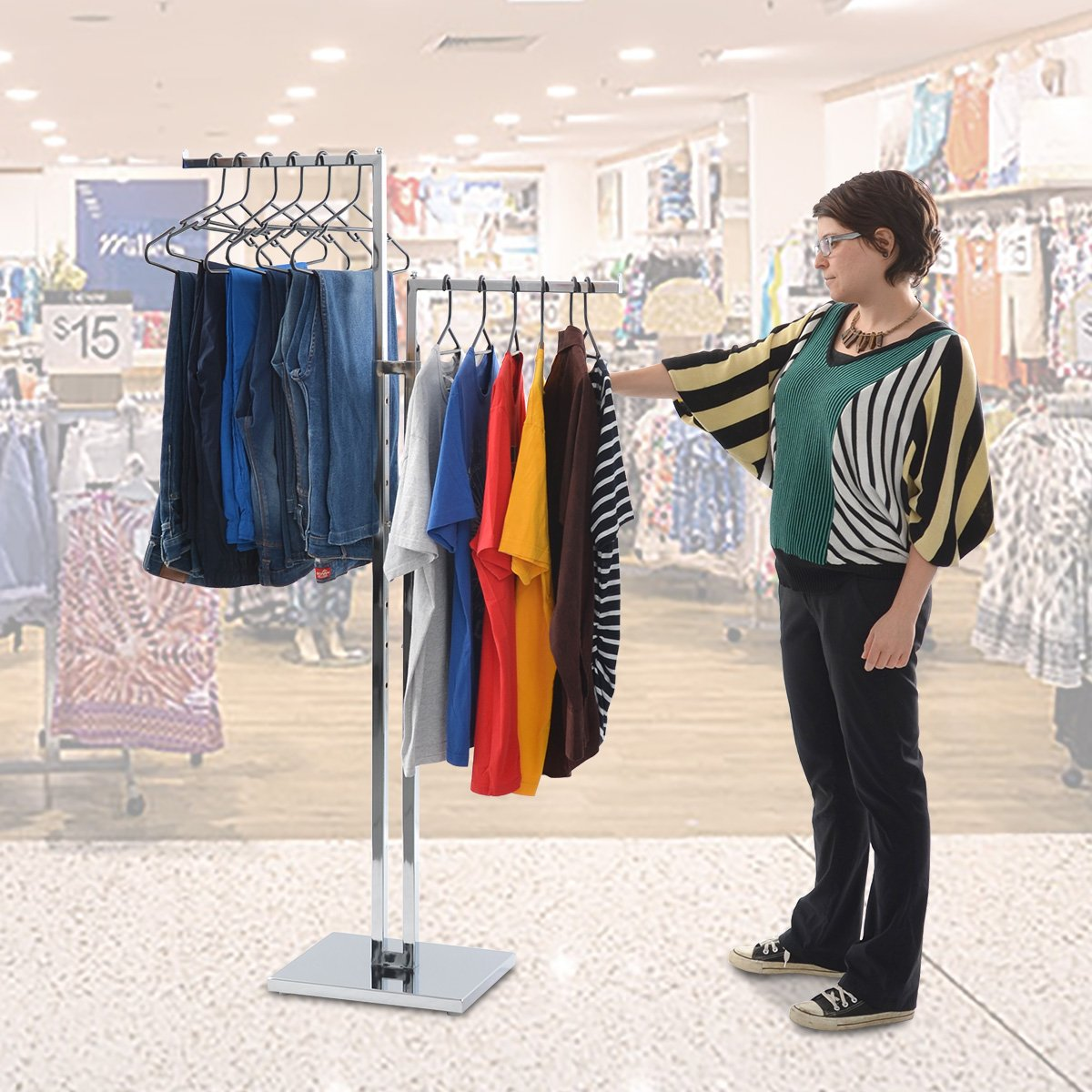 Keep your boutique organised with these clothing racks this Mother's Day whilst giving your customers a pleasant shopping experience. https://t.co/jxVOJ9n6XJ https://t.co/BieHO3Tyxk