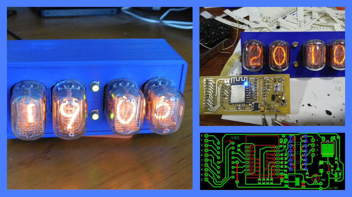 Cro Nixie Clock