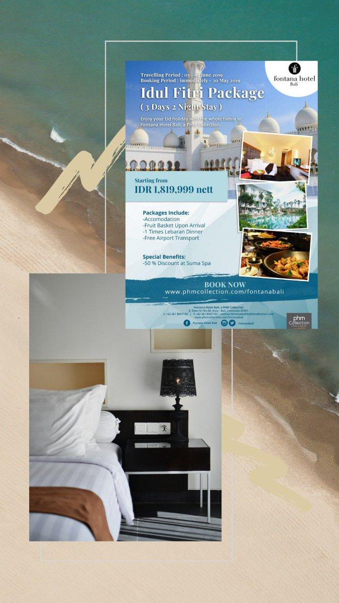 Fontana Hotel Bali Fontanabali Twitter