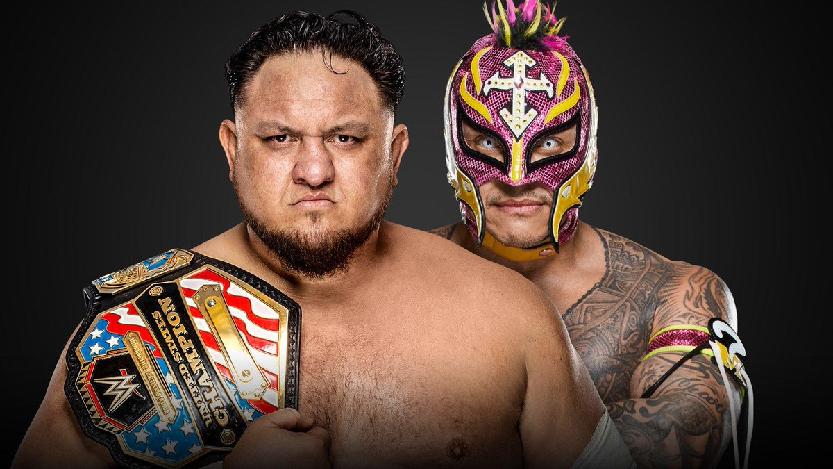 Samoa joe vs rey mysterio