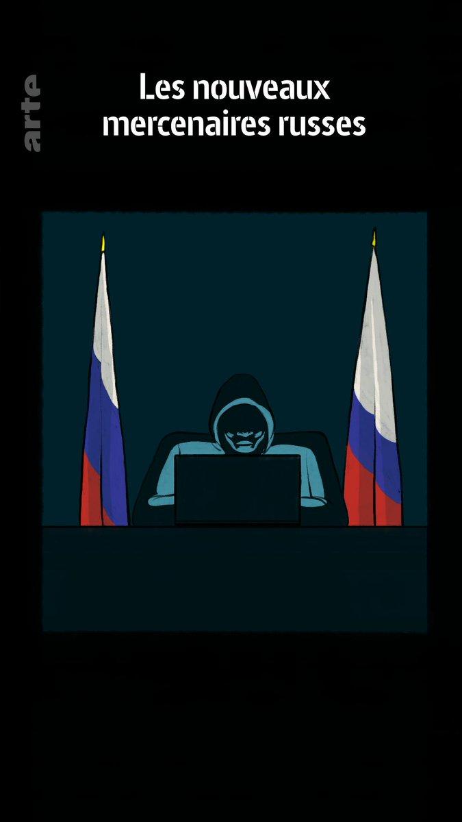 Lorsqu'il s'agit de faire peur à l'Occident, ces pirates informatiques russes s'en donnent hacker joie ⤵ http://so.arte/Mercenaires