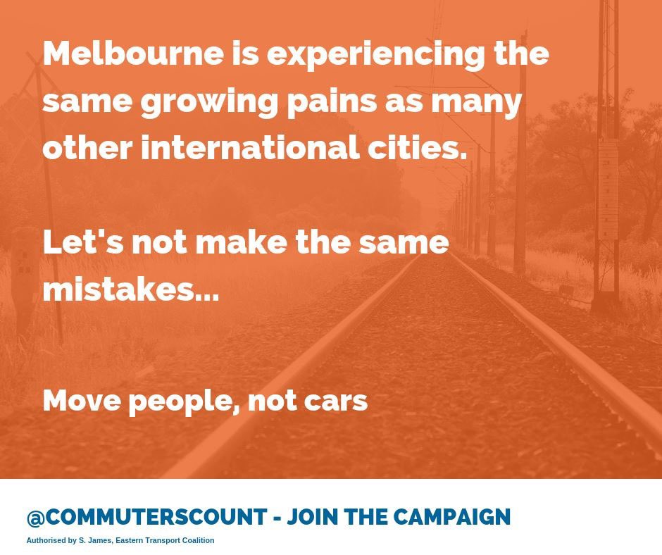 Entice new commuters and take pressure off our roads: