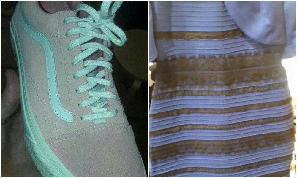 Картинки где человек видит разные цвета