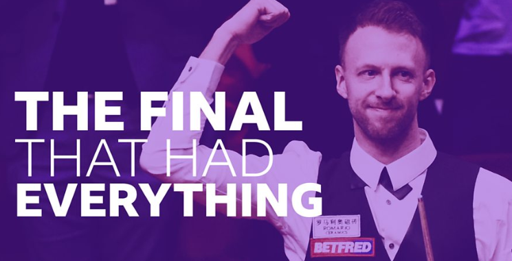 Was it the greatest Crucible final ever? Decide for yourself 🎥https://bbc.in/2VPzEFU  #bbcsnooker