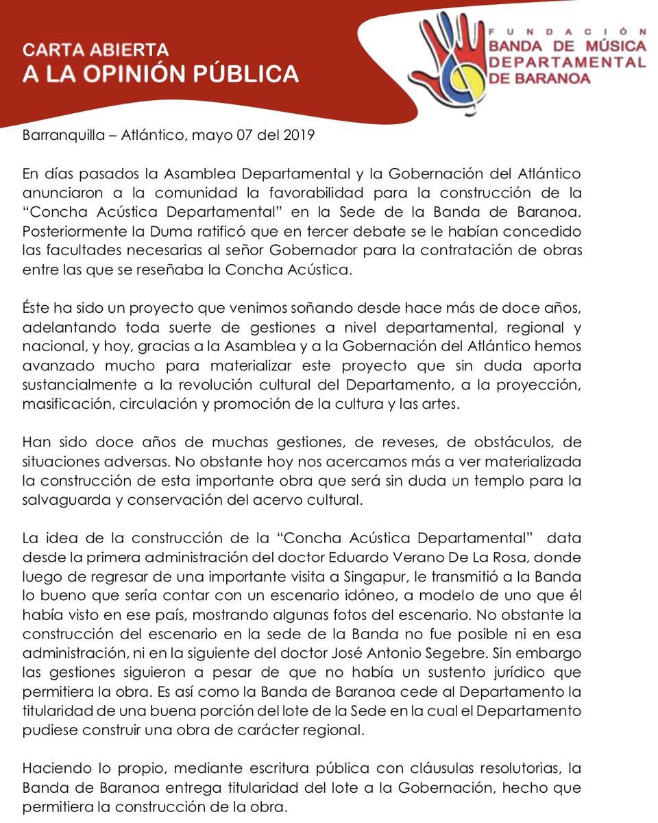 Banda De Baranoa At Bandadebaranoa1 Twitter