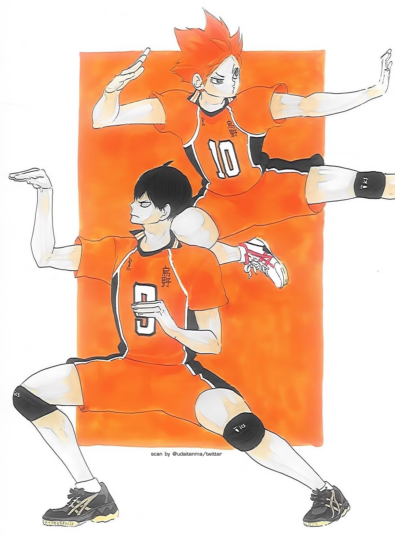 Omi On Twitter My Scan Haikyuu Color Illustrations Haikara Book Hqcolorscan Just Kagehina Being Chaotic As Always It S Nothing New Https T Co Gaqhkq99ki