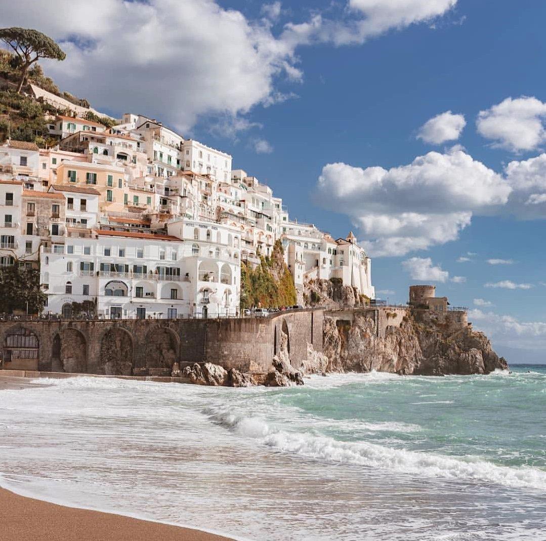 Южные пляжи италии с фото