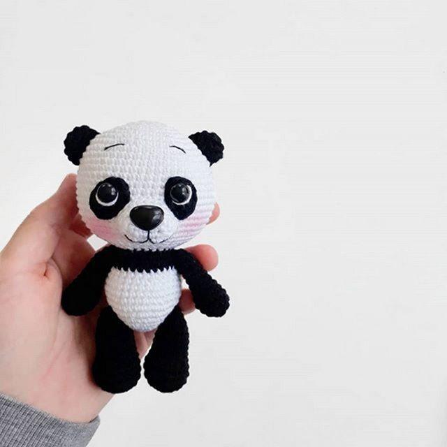 Haakpatroon Panda Pim - Stip & Haak   640x640