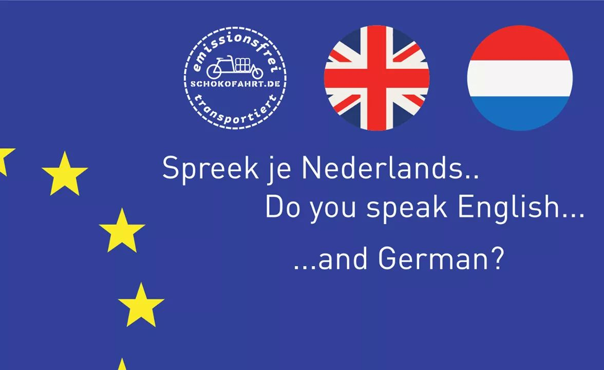 Schokofahrt On Twitter You Speak English Dutch And German Then We Are Looking For You The Schokofahrt Should Become Even More International We Would Like To Translate The Website Into English