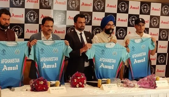 Amul to be official sponsor of the Afghanistan Cricket team for the ICC World Cup 2019