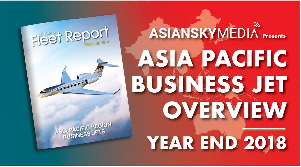 Find out the aggregate #APAC fleet growth, countries with the largest deduction and addition and the most popular size category with ASG's #BusinessJet Fleet Report YE2018 Overview: http://ow.ly/HNUl50tVBpT   #AsianSkyGroup #AsianSkyMedia