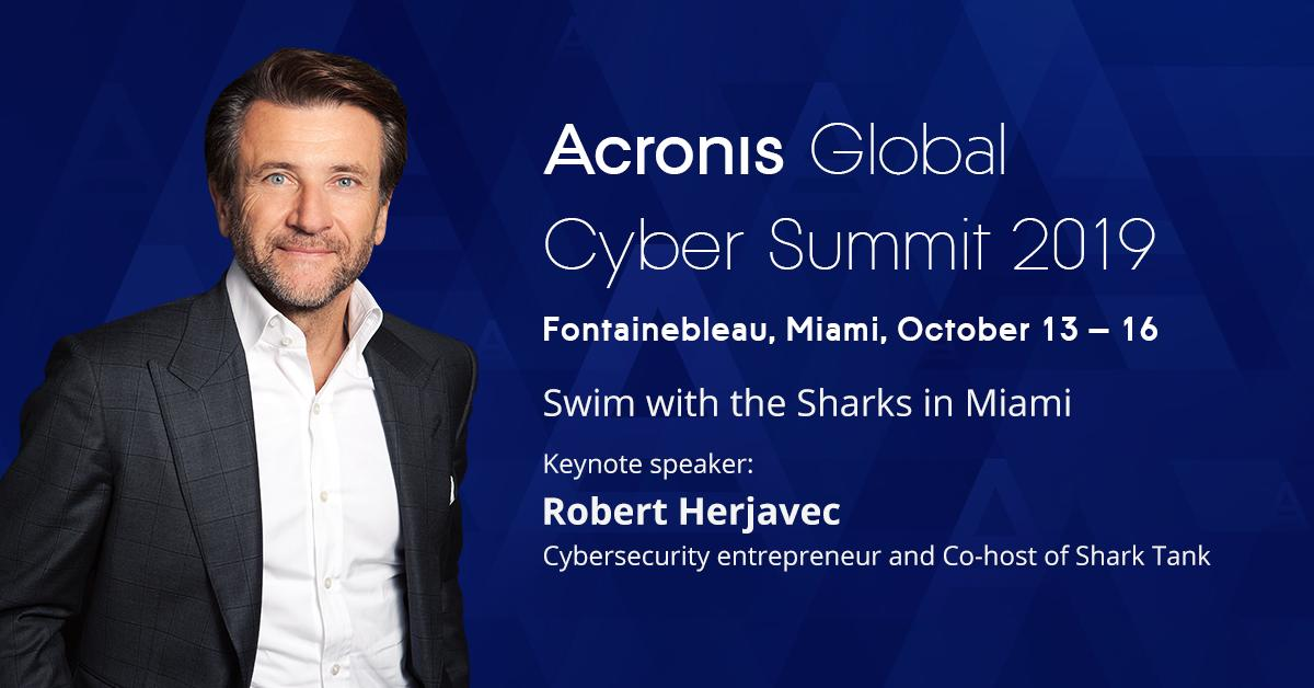 cfe4f33470ddc ... Summit this October in Miami. Get your early bird tickets before Aug  31. https   acronis.events summit2019   AcronisSummitpic.twitter .com MiJkVH7m1F