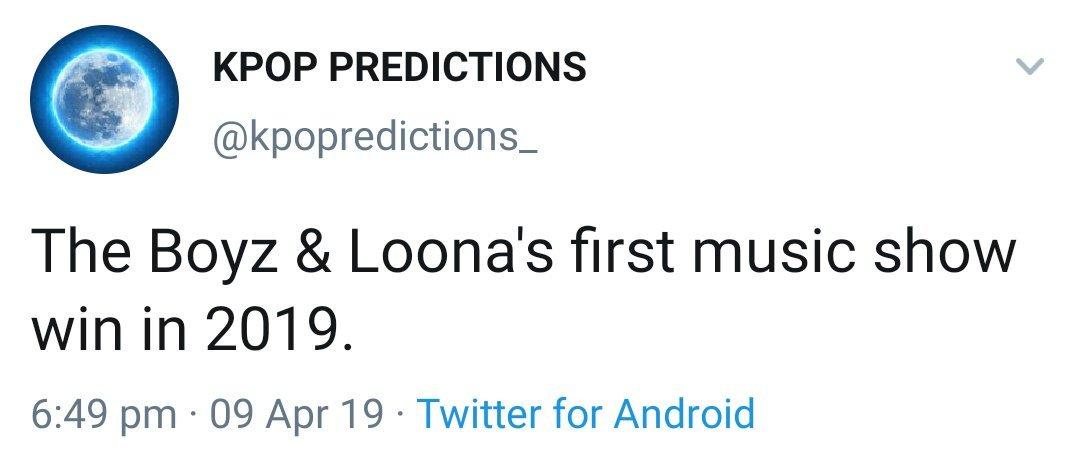 KPOP PREDICTIONS (@kpopredictions_) | Twitter