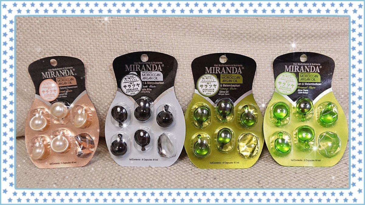 test ツイッターメディア - セリアで、エリップスに似ているミランダのオイルを見つけたので買ってみた‼️ それぞれ使った感じに違いはなかったけど、香りが白と黒は良かったけど、グリーン2種類は微妙だった…(´・ω・`) 白が一番良い香り✨ エリップスも使ってみたい… #セリア #ミランダ #MIRANDA https://t.co/92xOd9x27z