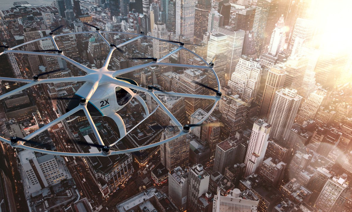 We 💙 Tech. With @Lab1886 – the Daimler incubator – we invest in ideas like the @Volocopter. It's vision: Make people's childhood dreams of flying come true and helping modern cities solve their increasing mobility issues. #TechTuesday #inspiredbyEQ #Lab1886 #Innovationeering