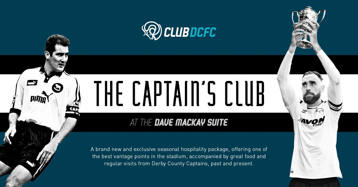 Get yourself a Captain's armband signed by @RichardKeogh_6 or @TheCurtisDavies by joining the Captain's Club ⚪⚫ 👉 buff.ly/2V9Eoqh