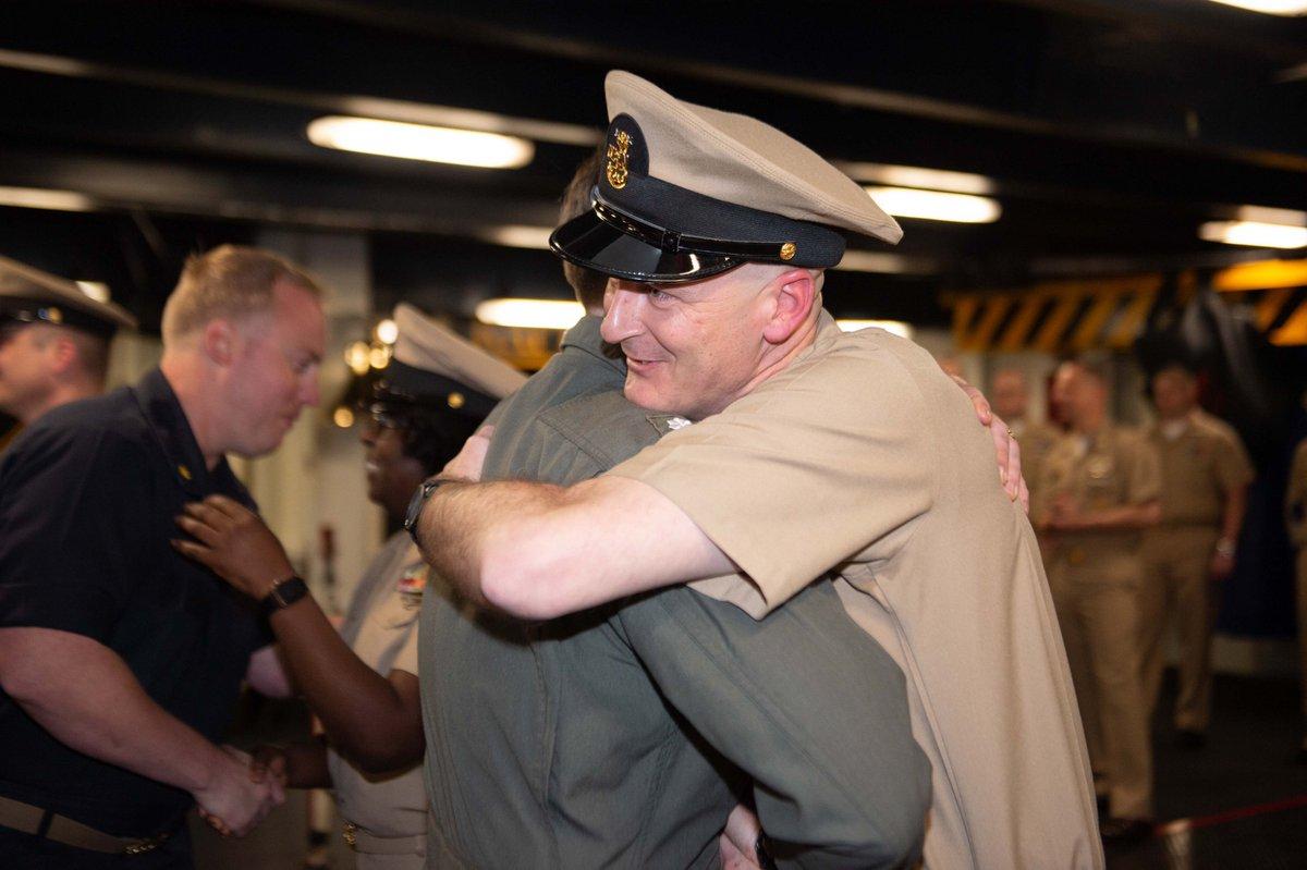 USS John C  Stennis on Twitter: