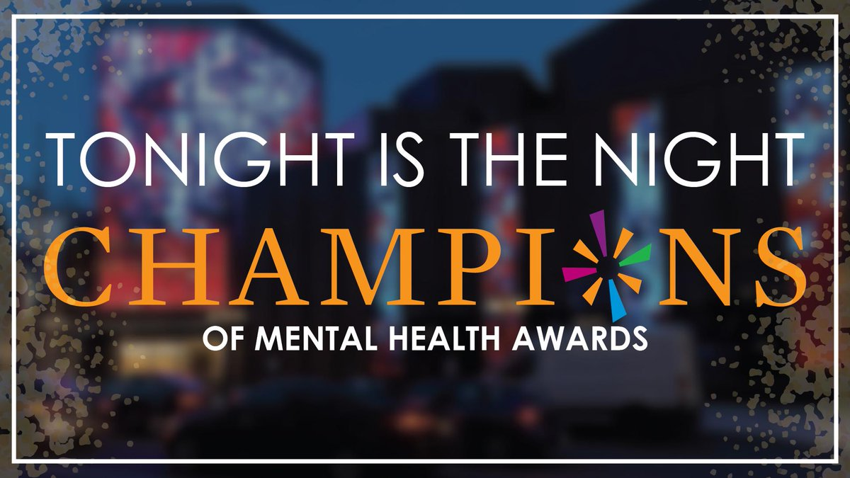 Will you be joining us tonight? https://www.camimh.ca/champions-campaign/ … #Champions19