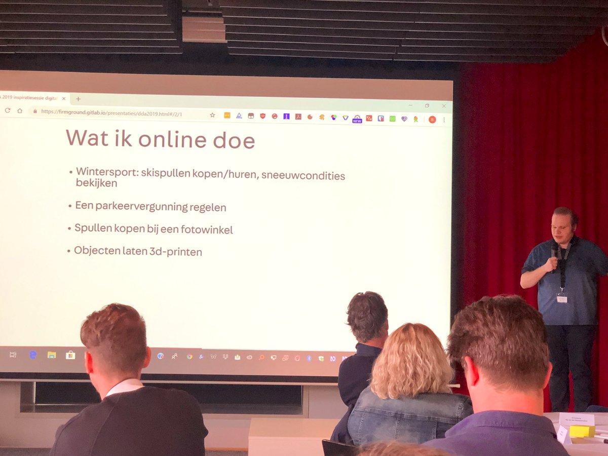 Blinde spreker en ontwikkelaar @bramduvigneau geeft inzicht wat hij online zoal doet - je verwacht het niet! #ActToImprove /cc @Siteimprove_NL https://t.co/BujNdZADPN