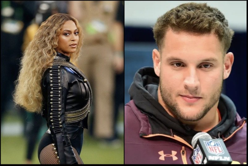 """Nick Bosa Latest Likes From 2nd White Nationalist IG Acct Shows He Dislikes Beyonce Not b/c of Her Music, But b/c She Dressed Up Like a """"Black Panther"""" & Protested Against Police Brutality During SB Performance (Deleted Tweets-IG) http://bit.ly/2UUzeP2"""