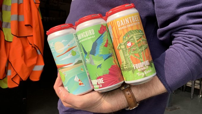 Image for Guess who's back with a brand new pack.   The Fruit Pack is full of fruity goodness with 2 x Daintree 2 x Coastline and 2 x Hummingbird. Pick yours off the Fourpure tree on our webshop:  https://t.co/6AobVV8fV5 https://t.co/trgjwwjWQw