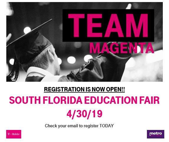 Have you thought about continuing your education? The education fair @TMobile is where you'll want to be on 4/30! Make sure to register today!