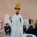 Image for the Tweet beginning: Resurrection Sunday in the Vatican