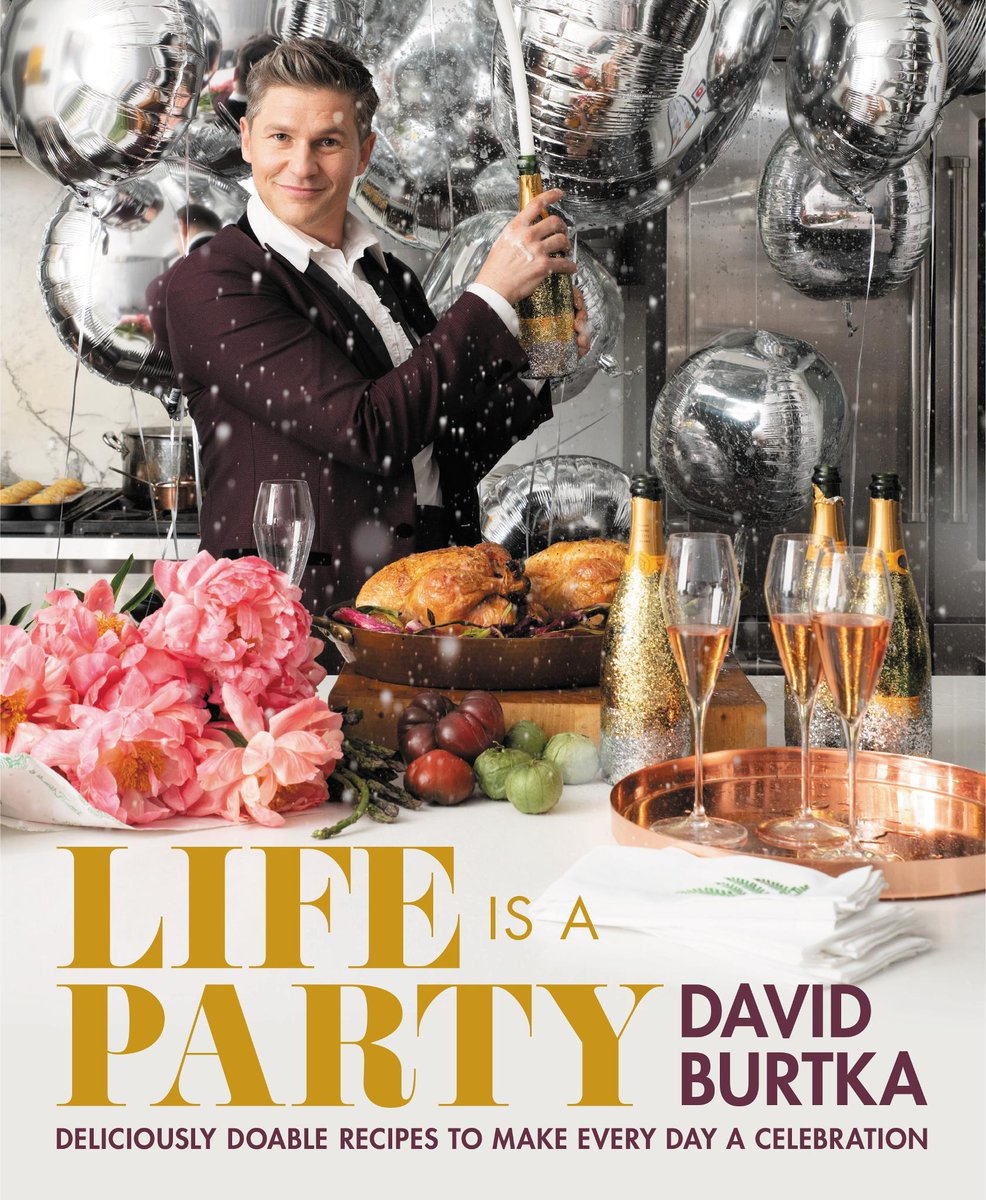 #NYC! Meet chef and award-winning actor @Davidburtka, Thursday 5/9, to celebrate the launch of his first cookbook #LifeIsAParty. Get tickets:   @TheShops_ColCir