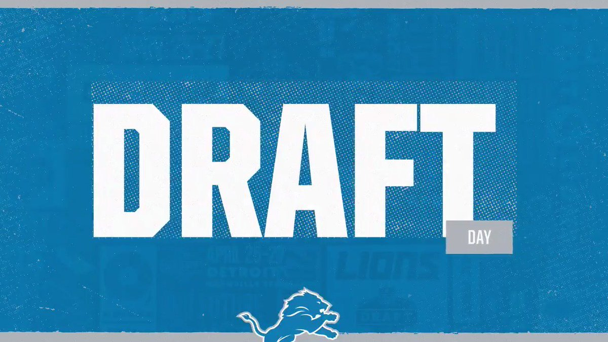 Today's the day! #NFLDraft2019