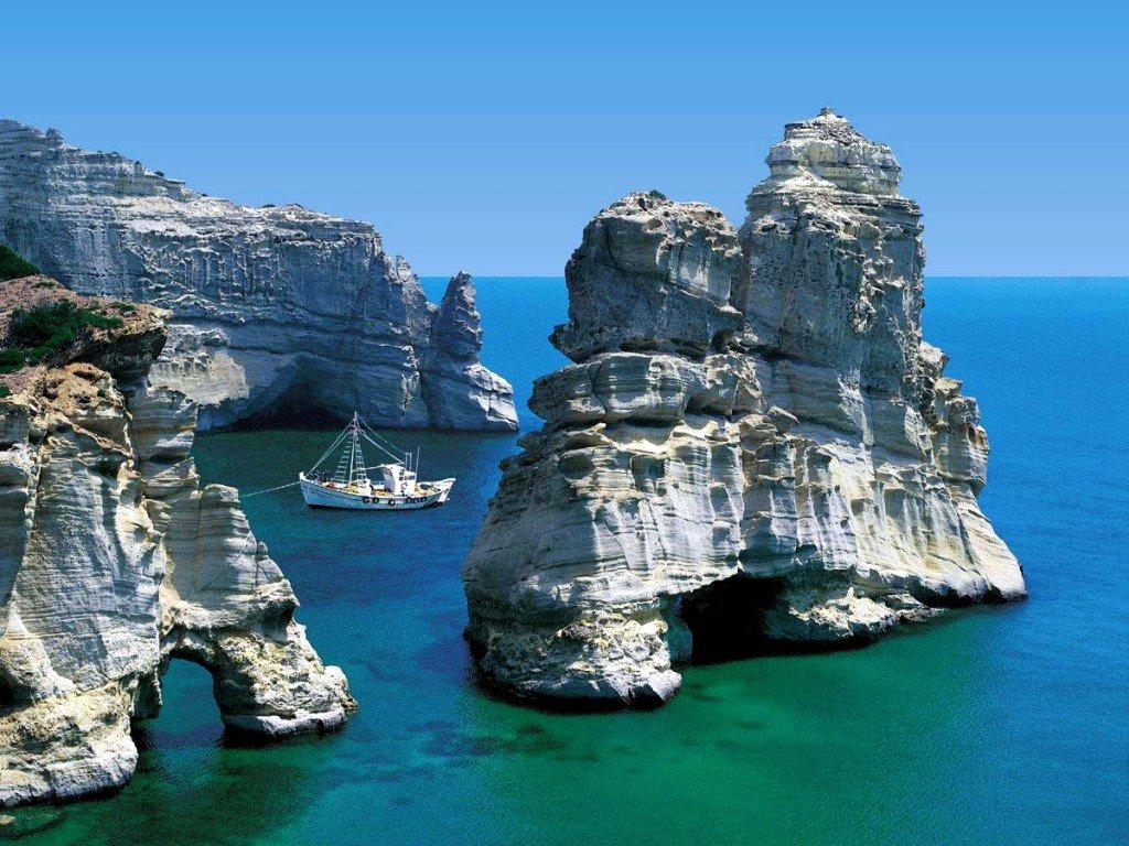 One beautiful place Greece