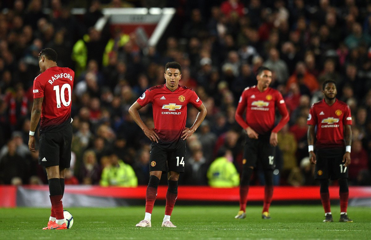 26 - Manchester United have spent only 26 days in the top four of the Premier League in 2018-19 so far; fewer than Watford (40). Liverpool (255) have spent the most days in the top four, followed by Man City (245), Chelsea (190), Spurs (189) & Arsenal (72). Outsiders.