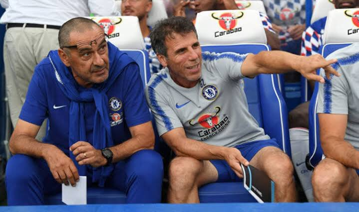 Gianfranco Zola: &quot;Working here with Maurizio is a huge privilege for me. Obviously Maurizio impressed everyone in Italy, and working with him everyday is great for me and my career. I feel like I am improving a lot every day&quot; #CFC <br>http://pic.twitter.com/PwrF2C5a2E