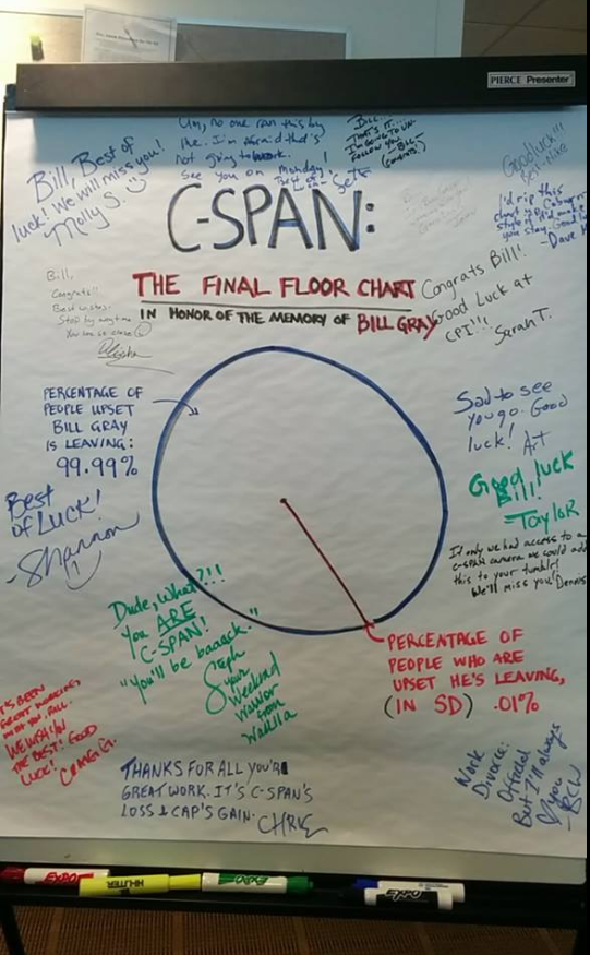 Once a SPANner, always a SPANner. #fiveyearsgone #butnotreally #cspanforever