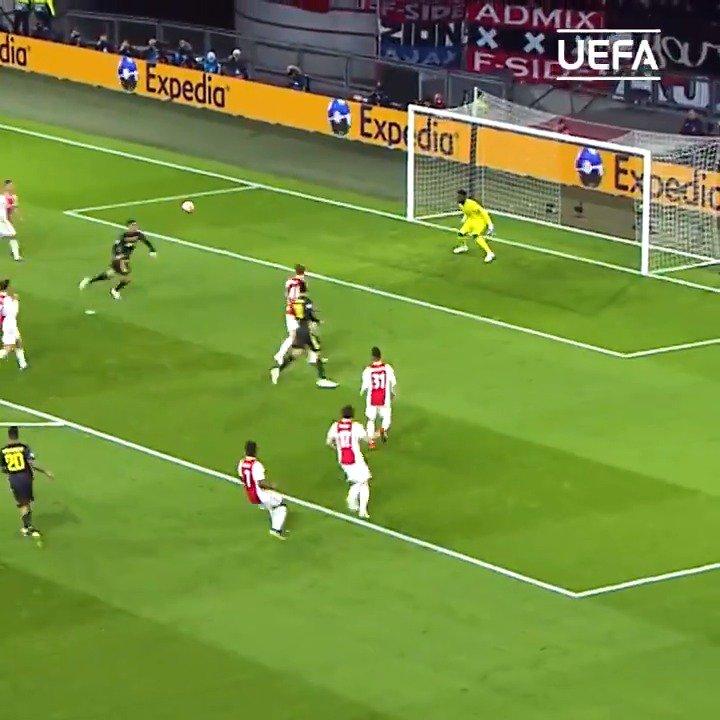 CL準々決勝で決まったベストゴールを振り返る。via @ChampionsLeague