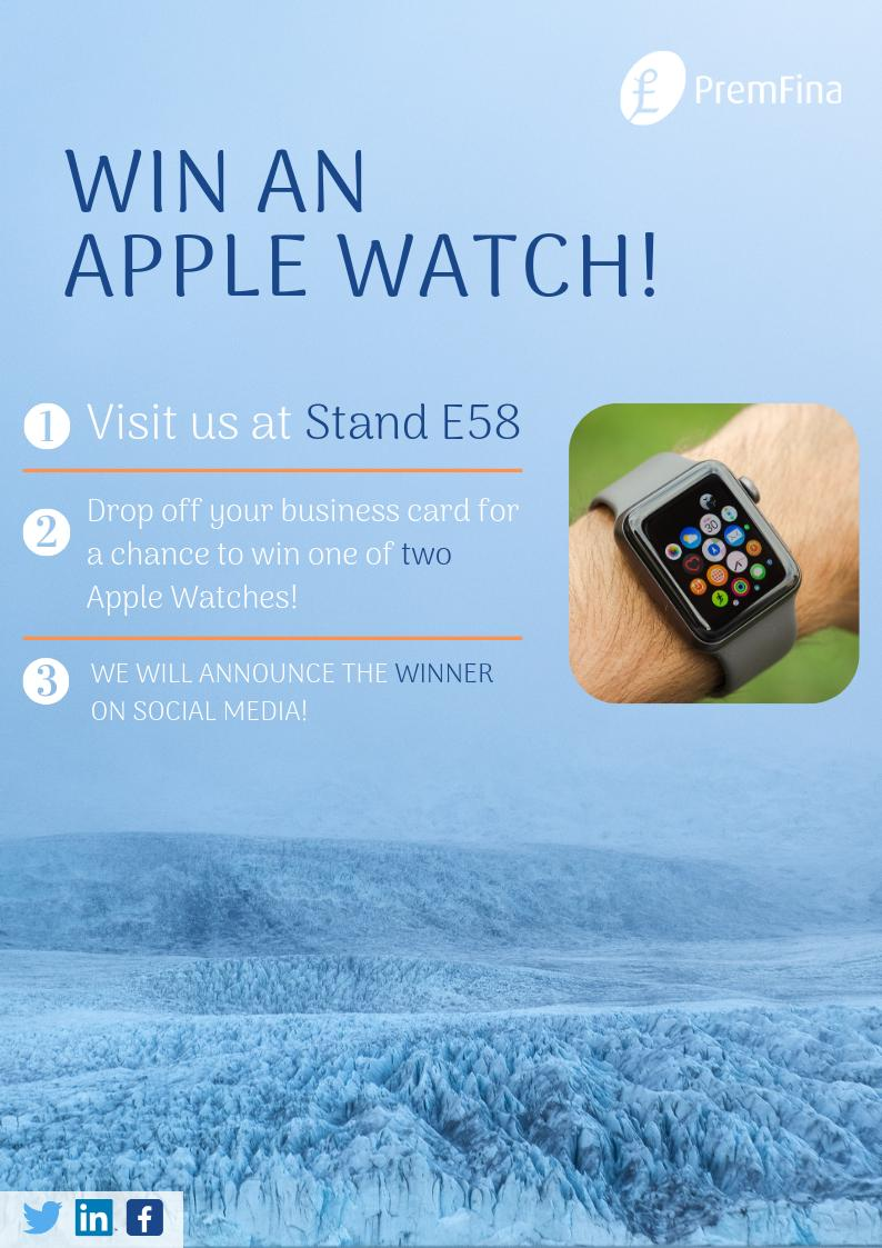 Any @GameOfThrones fans heading to #BIBA2019? Come say hi to us at our stand & enter for a chance to win an Apple Watch! @PremFina @BIBAbroker