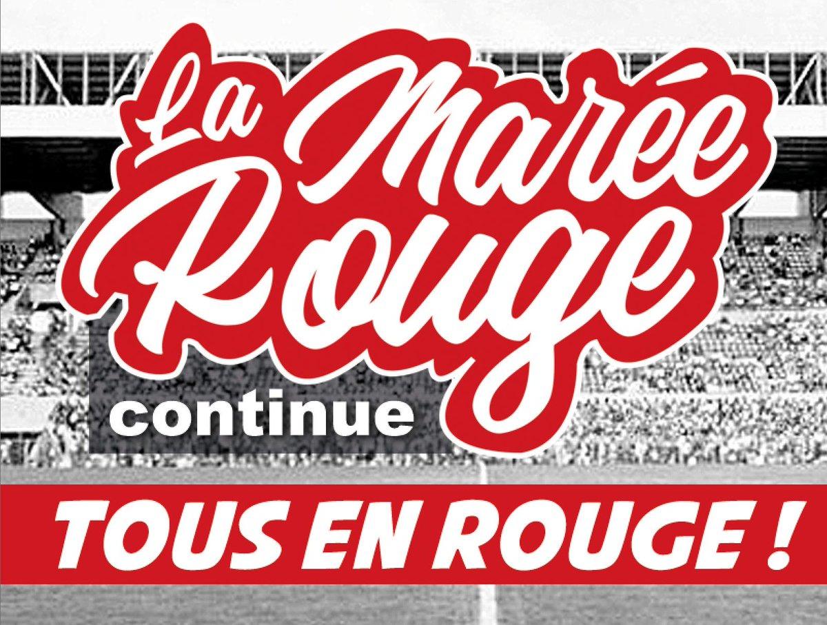 #SB29RCL Supporters brestois !!! On compte sur vous pour venir une nouvelle fois tous en rouge au match samedi !  #LaMaréeRouge continue !!! 🔴🔴✊  Continuez à nous envoyer vos photos avec le hashtag #LaMaréeRouge !