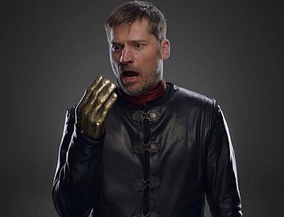 They should&#39;ve made Jaime a dragonglass hand so he can run around bitch slapping White Walkers <br>http://pic.twitter.com/Vdx4gXawHe