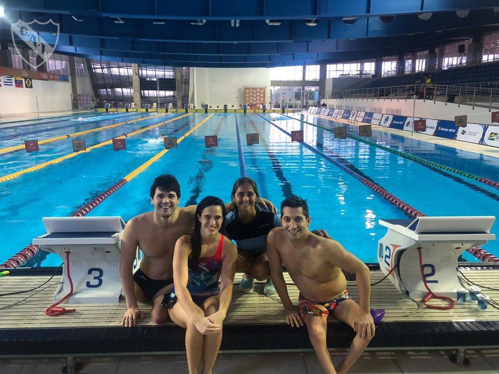 Nadadores paralímpicos