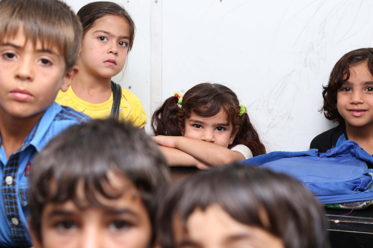 test Twitter Media - Today we're throwing back to the early 2000s in the south of #Iraq. A group of schoolchildren wait for their lesson to begin in an AMAR classroom. #ThrowbackThursday https://t.co/1Dswm0X9Pg