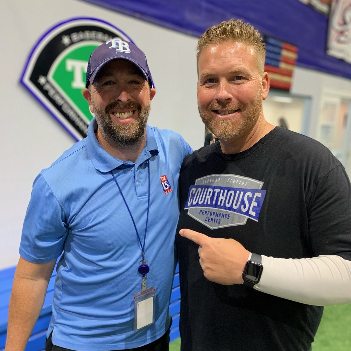 Toby Hall...always one of my favorite athletes to cover and a helluva nice guy!  #Work #DevilRays #TheBaseball<br>http://pic.twitter.com/EyBcEfaQla