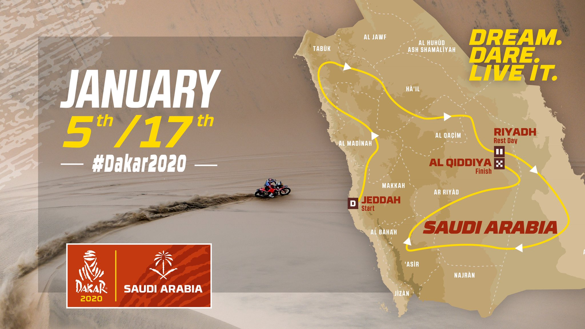 2019 41º Rallye Raid Dakar - Perú [6-17 Enero] - Página 12 D5ATZgAWkAAUcGG