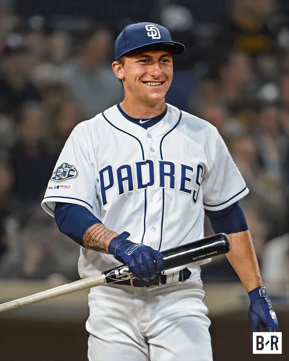 RT @BleacherReport: Johnny Manziel, Shortstop: San Diego Padres, Drafted in Round 28 https://t.co/s0AoG0iX9h