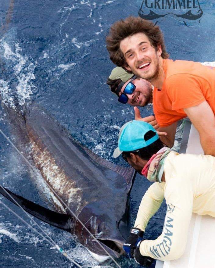 Cape Verdes - Andromeda released 3 Blue Marlin over 2-Days.