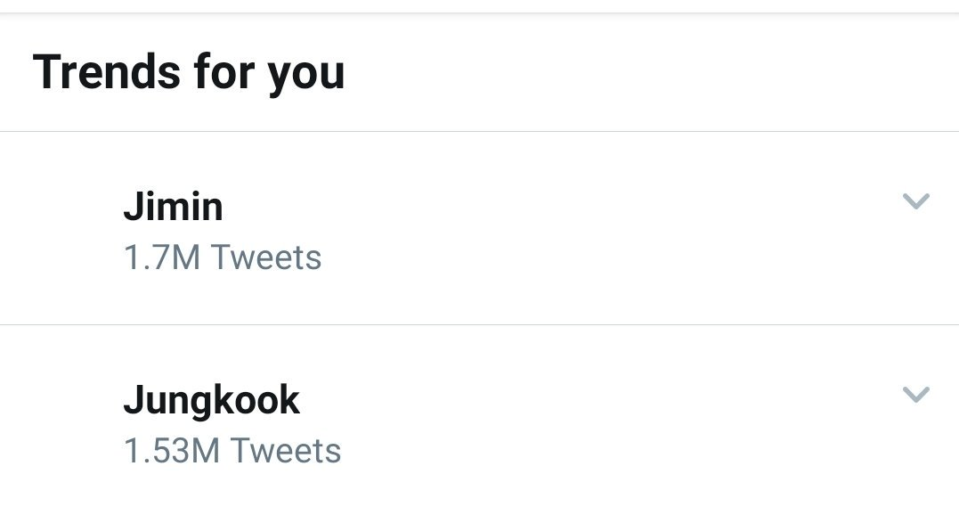Jimin and jungkook trending  But why? Haha  #BBMAsTopSocial BTS @BTS_twt<br>http://pic.twitter.com/iXNupXej1P